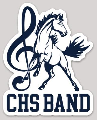 CHS Band Sticker
