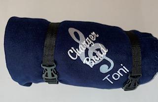 Fleece Blanket with Logo